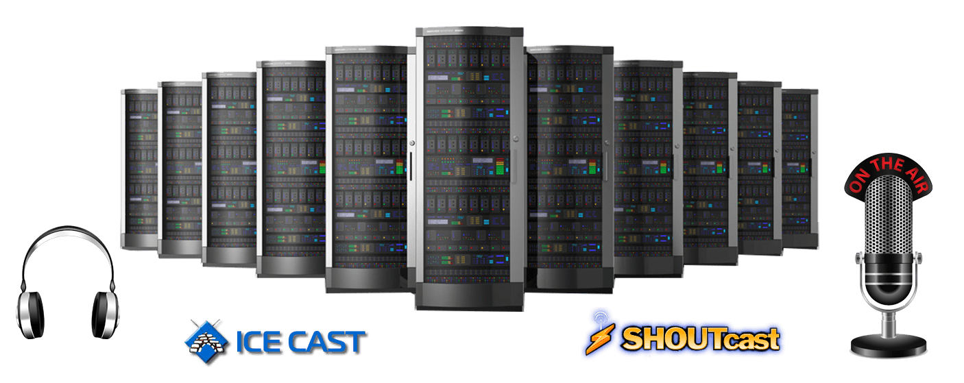 Radio hosting, shoutcast server, icecast server | Radio Apps